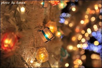 プレゼント型のランプ