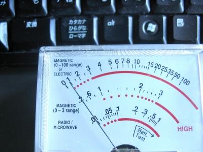 キーボード 電磁波