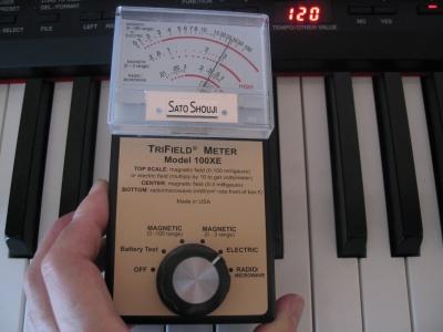電磁波(大) 電子ピアノ