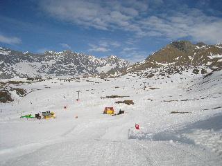 雪の上のキッズパーク