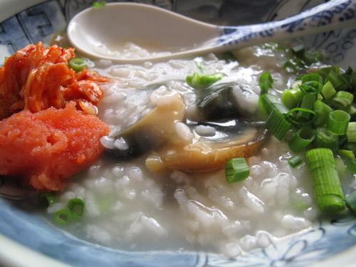 ピータン粥