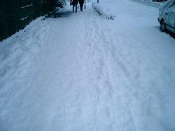 滑らないように気を付けて歩かねば・・