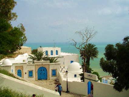 チュニジアの中で最も美しい町といわれるシディ・ブ・サイド