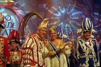 今年のカーニバルの王子と王女