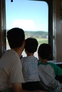 小湊鉄道にて
