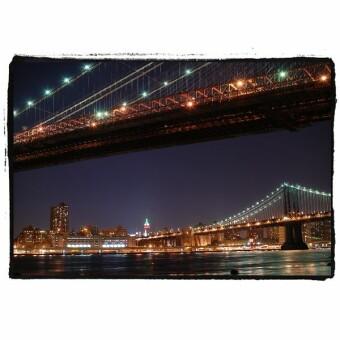 ブルックリンからの夜景