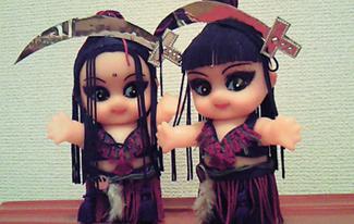 E-chan&Milla人形