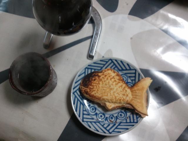 たいやきとコーヒー