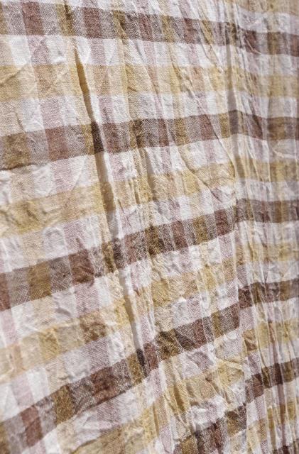 織り上がったクロマー