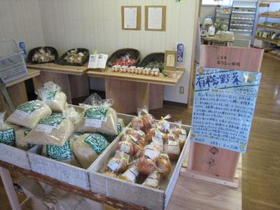 お店のシンボル有機の玉葱