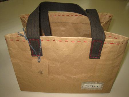 小豆袋のバッグ