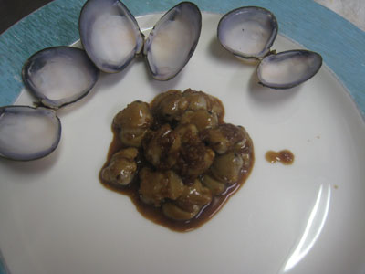 シジミの甘辛煮