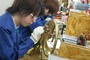 管楽器リペア 金管実習