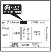 ハロー!パソコン教室イトーヨーカドー伊勢原校の地図