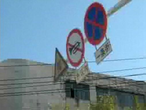 フリーダム!中国の道路in哈爾濱(ハルビン)