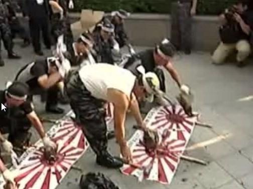 【竹島問題】韓国側デモ隊、日本の国鳥キジを惨殺する(動画)