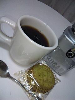 コーヒーとハーベスト。