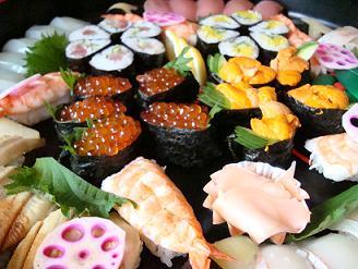 お寿司〜♪