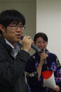 糸谷五段と石崎さん