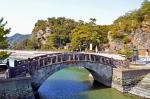 不老橋と奠供山