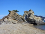 和歌浦 蓬莱岩