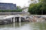 三断橋 台風被害