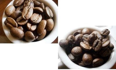 コーヒー焙煎 サンプル