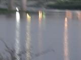 夕方の川面