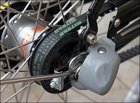 自転車の 自転車 ベルトドライブ メーカー : ベルトドライブ - Belt drive ...