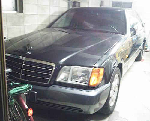 W140ベンツフロント