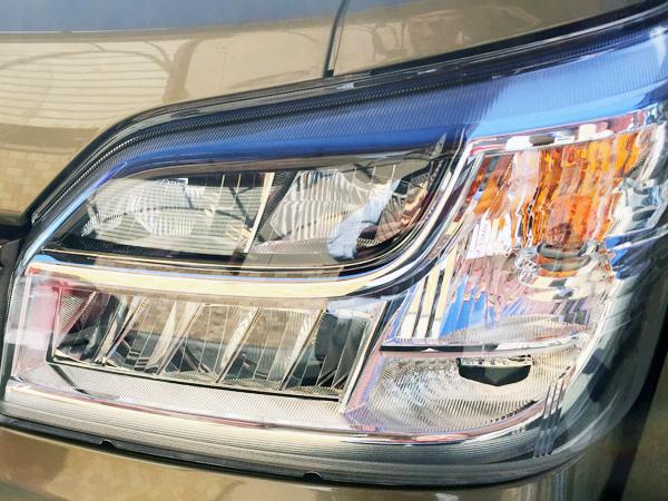 ハイゼットS500PのLEDヘッドライト