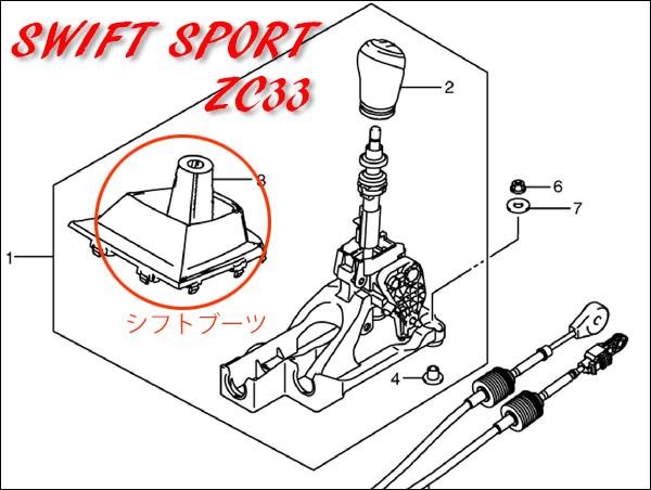 スイフトスポーツZC33パーツリスト