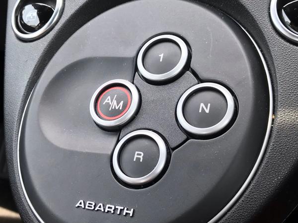 シフトチェンジボタン