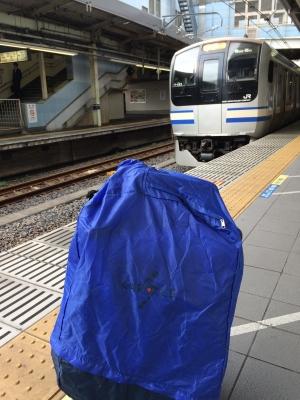 横須賀線とCARACLE