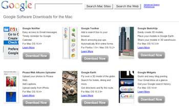 Google for Mac
