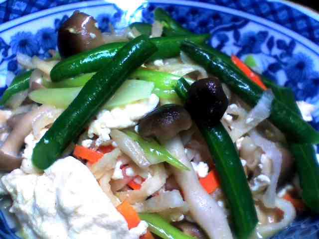 炒り豆腐・・・^0^