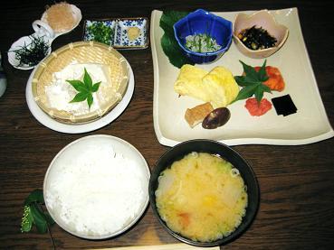 わらび野朝食2