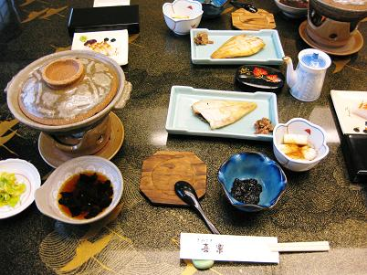 城崎朝食1