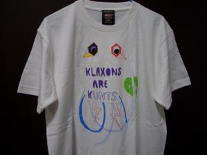 KLAXONS Tシャツ