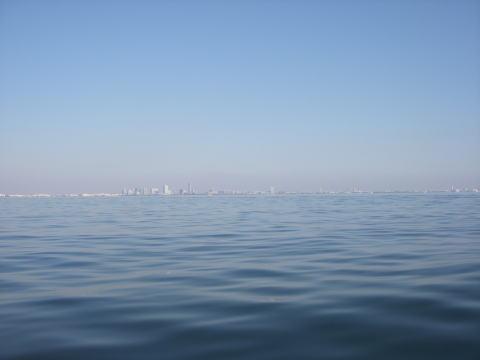 12月の東京湾