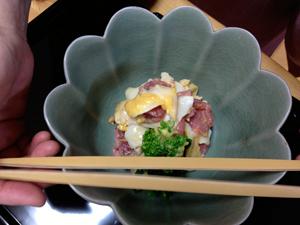 京子先生茶事ー強肴1