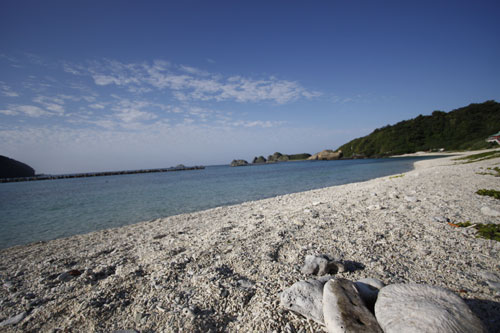 沖縄、阿嘉島で