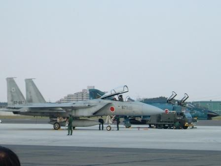 F-15とF-4EJ改