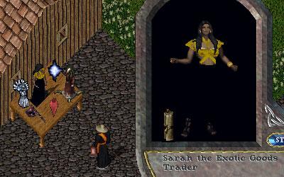 Sarah the Trader