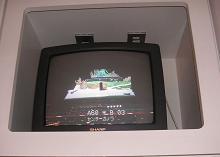楽屋TVモニター