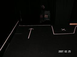舞台装置幽霊組立ち位置出掃け