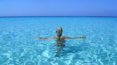 広大な青い海