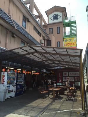 沼津港たばこ喫煙所