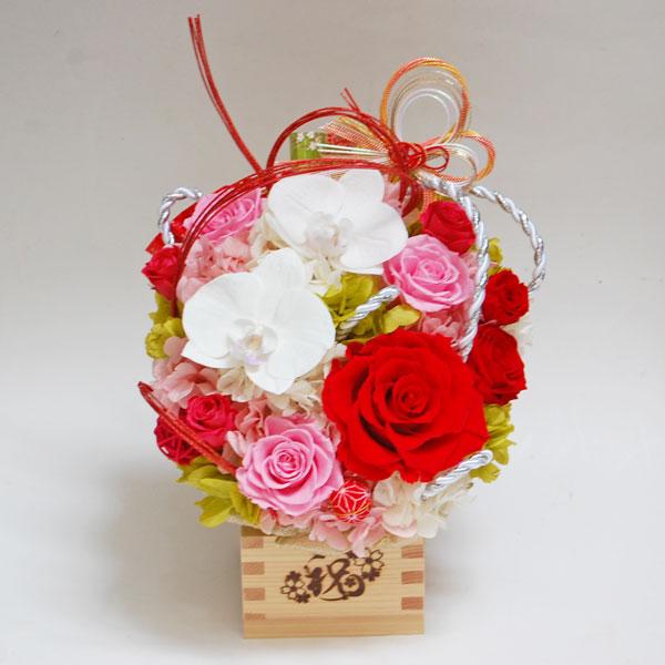 銀婚式のお祝いのお花(ピンクの薔薇)1