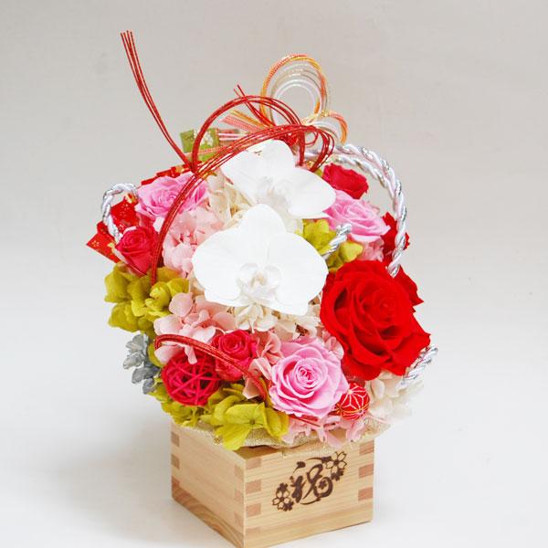 銀婚式のお祝いのお花(ピンクの薔薇)2